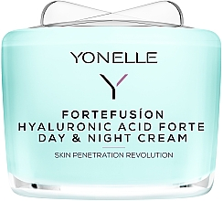 Kup Krem z kwasem hialuronowym na dzień i na noc - Yonelle Fortefusion Hyaluronic Acid Forte Day & Night Cream