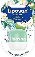 Kup Balsam do ust Woda kokosowa i aloes - Liposan Pop Ball