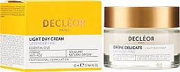Kup Nawilżający krem do twarzy - Decleor Light Day Cream Lavender Fine Firming Anti-Age