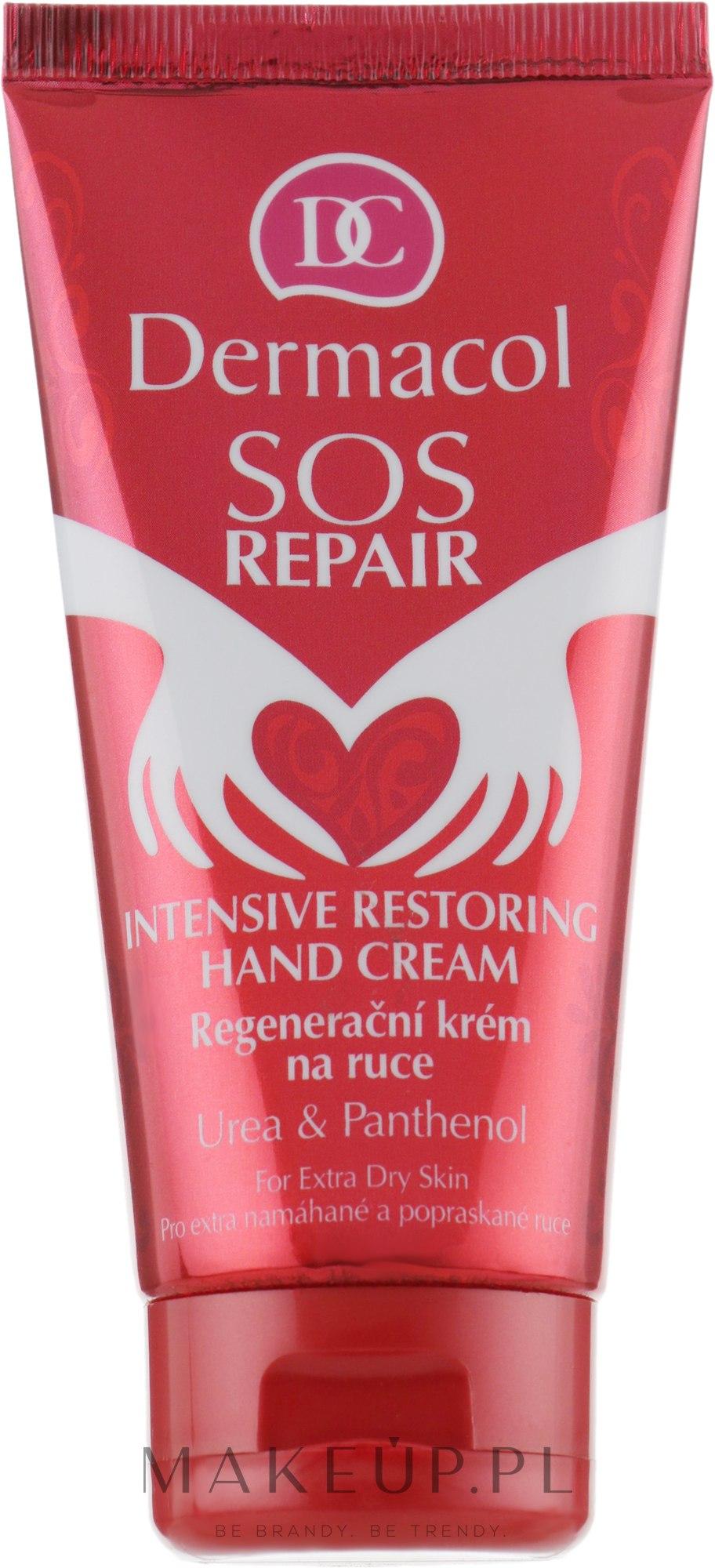 Intensywne regenerujący krem do rąk - Dermacol SOS Repair Hand Cream — фото 75 ml