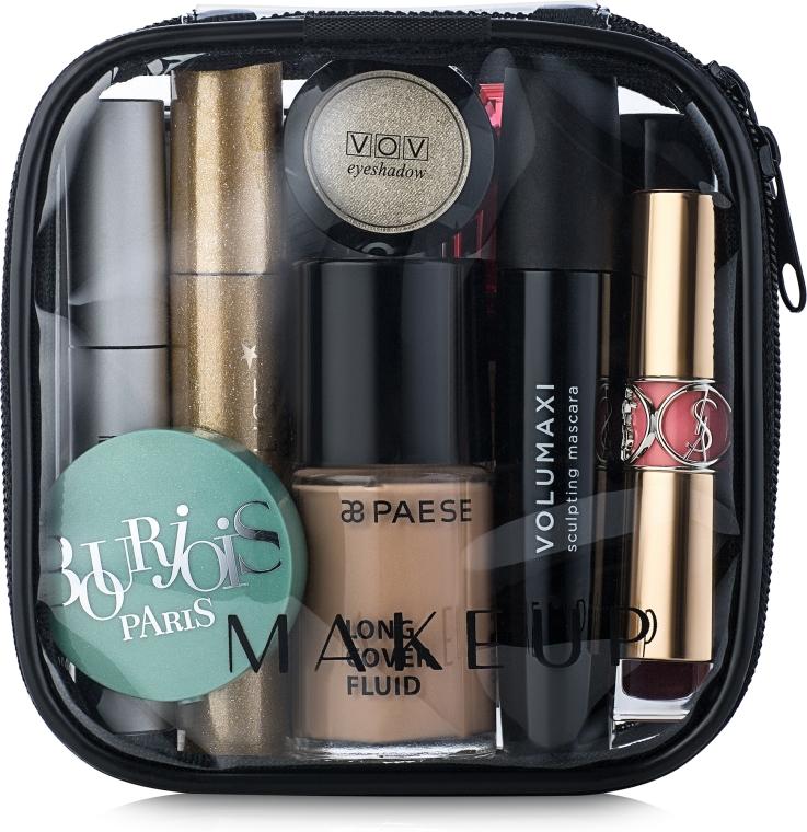 Kosmetyczka przezroczysta Visible Bag (12 x 12 x 5 cm, bez zawartości) - Makeup