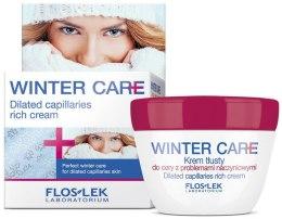 Kup Tłusty krem do cery z problemami naczyniowymi - Floslek Winter Care Dilated Capillaries Rich Cream