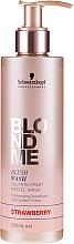 Kup Szampon tonujący do włosów Pastelowy róż - Schwarzkopf Professional Blondme Blush Wash Strawberry