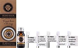 Kup Zestaw dla mężczyzn - Beviro Vanilla Palo Santo Tonka Boby (b/oil/10ml + b/balm/15ml + edc/5x1ml)