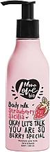 Kup Mleczko do ciała Truskawka - MonoLove Bio Strawberry Sicilia Body Milk