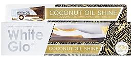 Kup Zestaw do pielęgnacji jamy ustnej z olejem kokosowym - White Glo Coconut Oil Shine (toothpaste/120ml + toothbrush)
