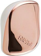 Kompaktowa szczotka do włosów - Tangle Teezer Compact Styler Rose Gold Cream — фото N3