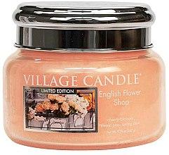 Kup Świeca zapachowa w słoiku - Village Candle English Flower Shop Glass Jar