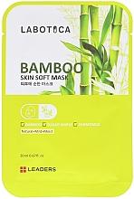 Kup Zmiękczająca maseczka do twarzy z bambusem - Leaders Labotica Skin Soft Mask Bamboo