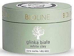 Kup Biała glinka do cery suchej do twarzy i ciała - Bioline White Clay