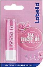 Kup Ochronny balsam do ust Róża - Labello Lip Care Soft Rose Lip Balm