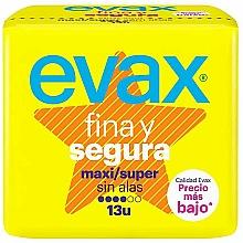 Kup Podpaski Super maxi, bez skrzydełek, 13szt - Evax Fina & Segura