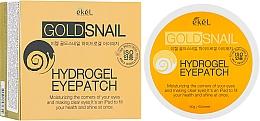 Kup Hydrożelowe płatki pod oczy ze złotem i mucyną ślimaka - Ekel Ample Hydrogel Eyepatch
