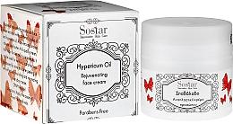 Kup Nawilżający krem do twarzy z olejkiem z dziurawca - Sostar Natural Rejuvenating Moisturizer Face Cream with Hypericum Oil