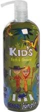 Kup Żel pod prysznic i do kąpieli dla dzieci - Hegron Kid's Crazy Jungle Bath & Shower