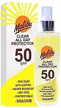 Kup Spray przeciwsłoneczny do ciała SPF 50 - Malibu Clear All Day Protection