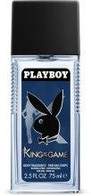 Kup Playboy King of The Game - Perfumowany dezodorant w atomizerze dla mężczyzn