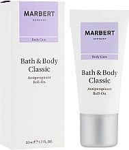 Kup Antyperspirant w kulce - Marbert Bath & Body Classic Antiperspirant Roll-On