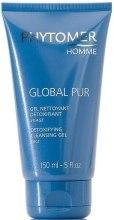 Kup Oczyszczający żel do twarzy dla mężczyzn - Phytomer Homme Global Pur Detoxifying Cleansing Gel
