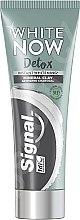 Kup Wybielająca pasta do zębów z węglem aktywnym - Signal White Now Detox Toothpaste