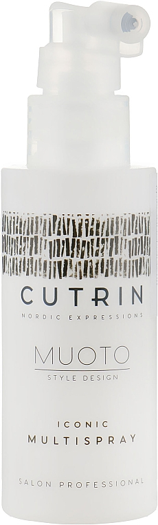 Termoochronny spray do włosów - Cutrin Muoto Iconic Multispray — фото N1