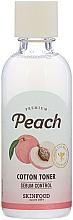 Kup Toner do twarzy - Skinfood Premium Peach Cotton Toner