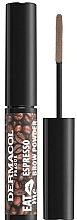 Kup Puder do brwi - Dermacol Eat Me Espresso Eyebrow Powder