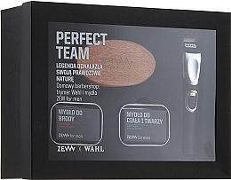 Kup Zestaw barberski dla mężczyzn - Zew Wahl (soap 2 x 85 ml + brush + trimmer)