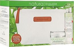 Zestaw do pielęgnacji twarzy - Collistar Natura (cr 50 ml + mic/water 150 ml + bag) — фото N1