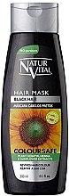 Kup Odżywka do włosów farbowanych wzmacniająca ich kolor - Natur Vital Coloursafe Henna Hair Mask Black Hair
