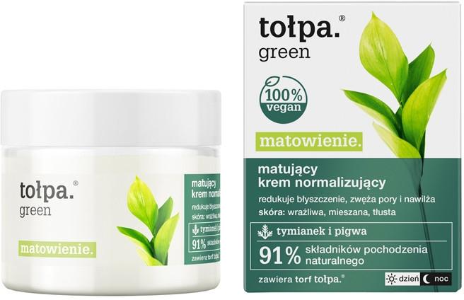 Matujący krem normalizujący - Tołpa Green Matowienie
