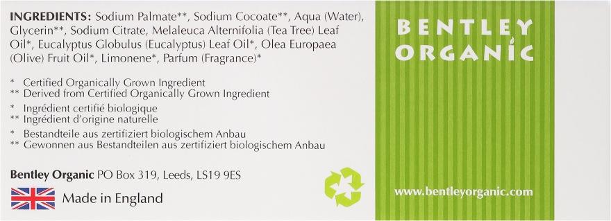 Głęboko oczyszczające mydło kosmetyczne Oliwki, drzewo herbaciane i eukaliptus - Bentley Organic Body Care Deep Cleansing Soap Bar — фото N3
