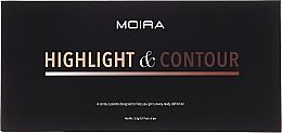 Kup Paleta do konturowania twarzy - Moira Highlight & Contour Palette