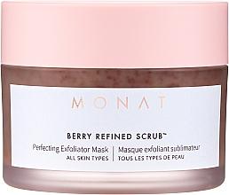 Kup Maska peelingująca do twarzy - Monat Berry Refined Scrub Perfecting Exfoliator Mask