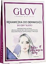 Kup Rękawiczka do demakijażu, fioletowa - Glov Expert Oily and Mixed Skin