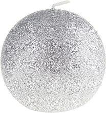 Kup Świeca dekoracyjna Glamour kula, 10 cm, srebrna - Artman Glamour