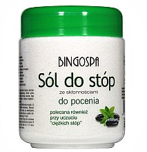 Kup Sól do stóp ze skłonnościami do pocenia - BingoSpa Salt For Feet