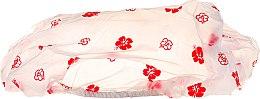 Kup Czepek do kąpieli, 30369, czerwone kwiaty - Top Choice