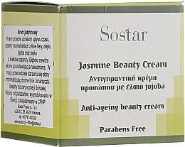 Kup Krem odmładzający do twarzy z jaśminem - Sostar Jasmine Anti-Aging Beauty Cream