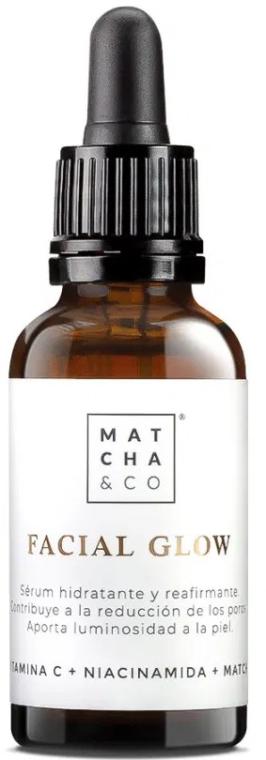 Rozświetlające serum do twarzy - Matcha & Co Facial Glow Serum — фото N1