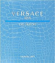 Kup Versace Man Eau Fraiche - Zestaw (edt 100 ml + sh/gel 100 ml)