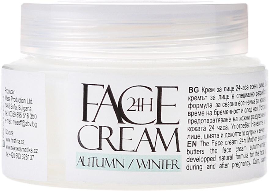 Odmładzający krem do twarzy na jesień i zimę - Mother And Baby Face Cream