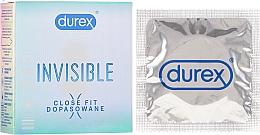 Kup Dopasowane prezerwatywy ultracienkie, 3szt. - Durex Invisible Close Fit