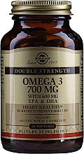 Kup PRZECENA! Suplement diety Omega-3 700 mg EPA i DHA - Solgar Double Strength Omega-3 700 mg EPA & DHA *