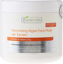 Harmonizująca maska algowa z kurkumą - Bielenda Professional Face Program Harmonizing Algae Face Mask With Turmeric — фото N1