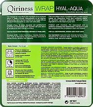 Hialuronowa maska nawilżająca na tkaninie - Qiriness Wrap Hyal-Aqua Hyaluronic Moisture Microfiber Mask — фото N2