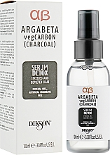 Kup Serum detoksykujące do włosów - Dikson Argabeta Carbon Serum Detox