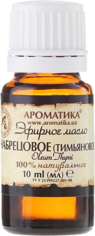100% naturalny olejek tymiankowy - Aromatika — фото N2