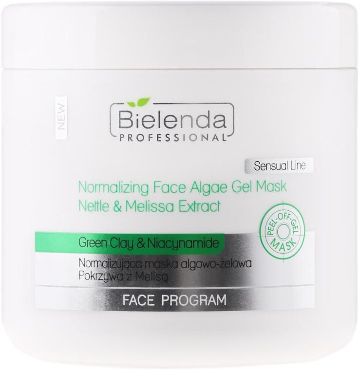 Normalizująca maska algowo-żelowa Pokrzywa z melisą - Bielenda Professional Face Program — фото N1