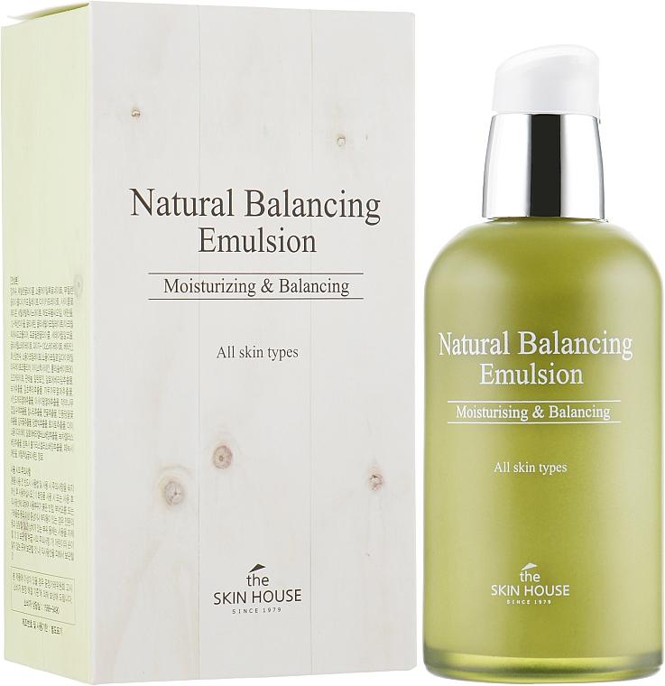 Emulsja do twarzy przywracająca równowagę skóry - The Skin House Natural Balancing Emulsion — фото N1